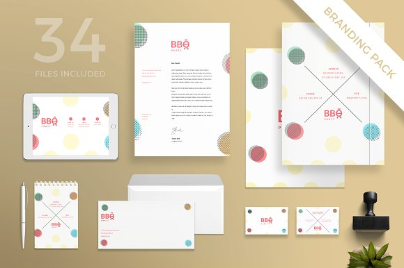 Branding Pack | BBQ Party