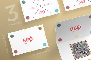 Business Cards | BBQ Party