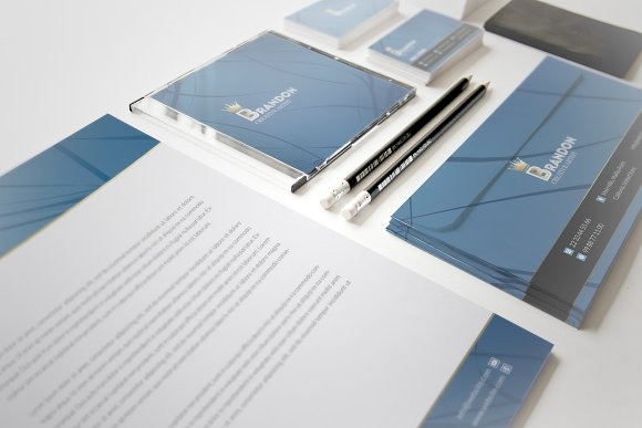 Brandon Corporate Identity in Stationery Templates - product preview 8