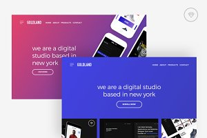 Goldland Pages (Web Slides Designs)