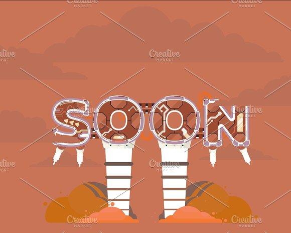 Coming Soon Illustration