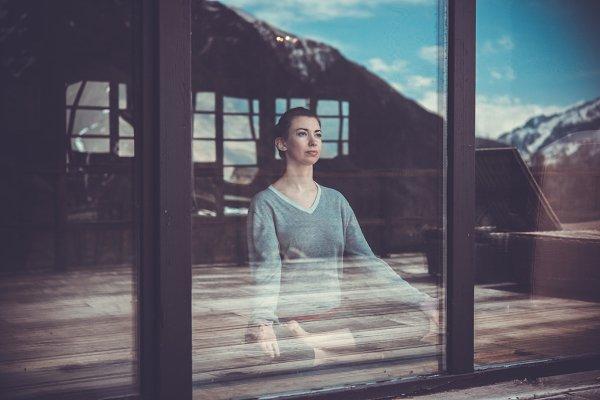 Health Stock Photos: ffforn studio store - Meditating
