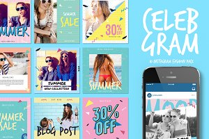Celebgram_Instagram Fashion Pack