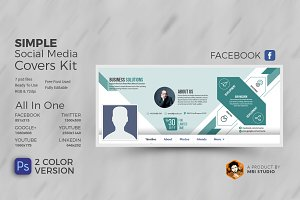 Corporate Business Social Cover Kit