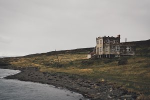 Abandoned House on the Shore
