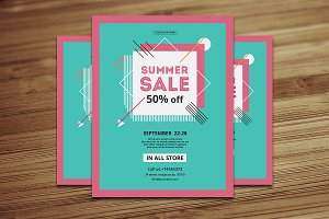 Summer Sale Flyer /Poster V585