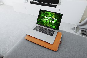 Macbook Display Mock-up#114