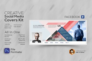 Creative Social Media Covers Kit