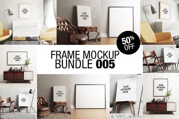 Frame Mockup Bundle 005 50% OFF