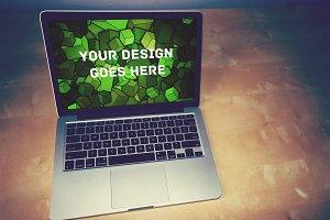 Macbook Display Mock-up#116