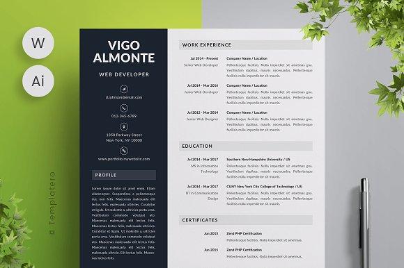 Vigo - Resume Template