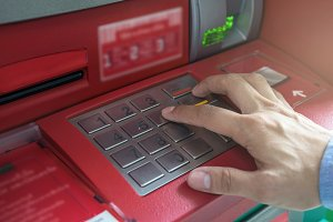The ATM EPP keyboard,
