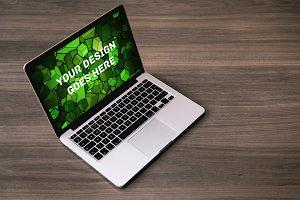 Macbook Display Mock-up#120