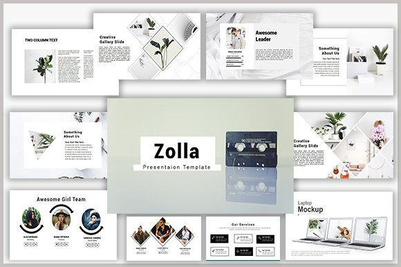 Zolla Keynote Template