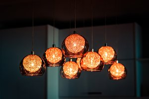 Luxury lighting decoration