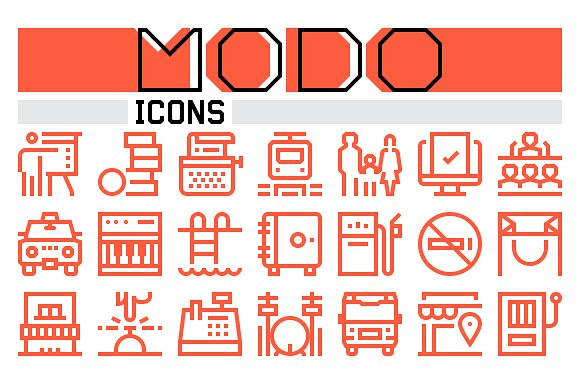 Modo Icons Collection