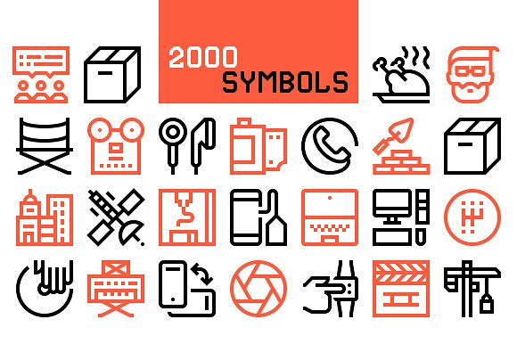 Modo icons collection icons creative market fandeluxe Choice Image