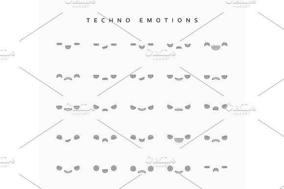 Set Techno Emotions To Create Characters