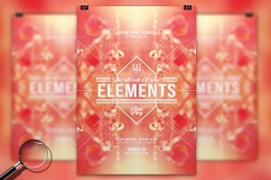 The Elements | Pure Flyer Template