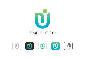 Minimal U Logo