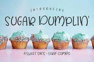 Sugar Dumplin' Sans & Serif Font