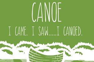 Canoe Font - An All Caps Font