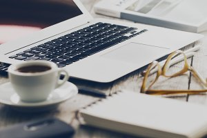 Work Freelance Study Concept Tone