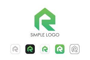 Minimal R Logo
