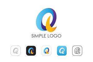 Minimal Q Logo