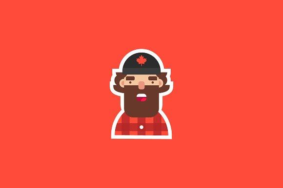 Lumberjack Sticker
