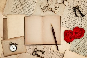 Red Roses and Love Letters