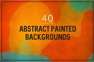 Abstract painted backgrounds