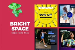 Bright Space Social Media Pack