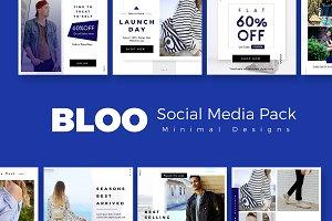 Bloo Social Media Kit