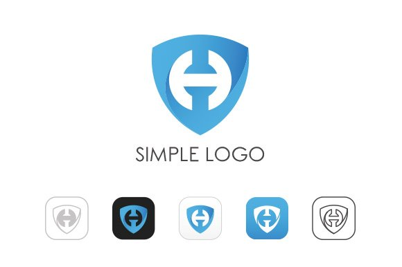 Minimal H Logo