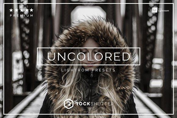 Uncolored Lightroom Presets