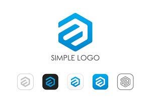 Minimal A E Logo
