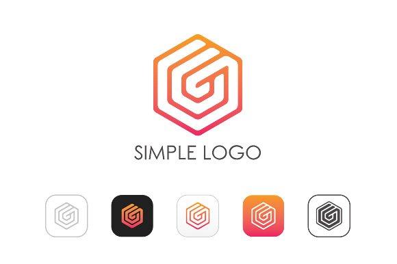Minimal G Logo