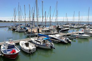 Marina on the Guadiana River