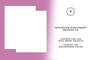 Invitation / Card Mockup