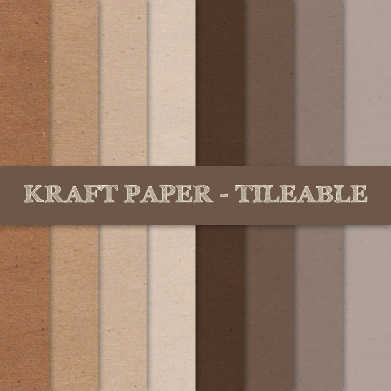 kraft paper texture tileable textures creative market