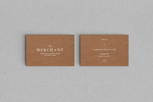 Merchant Business Card