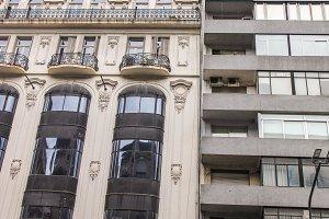 Vintage Building Facade