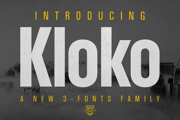 Kloko Font Family
