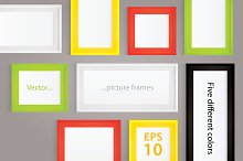 Vector illustration - picture frames
