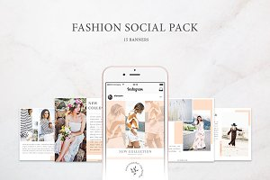 Instagram / Fashion Social Pack 2