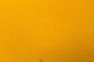 Concrete Background Yellow