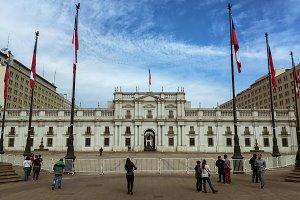 Palacio de la Moneda Santiago, Chile