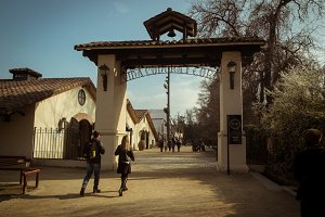 Gates of Concha y Toro winery