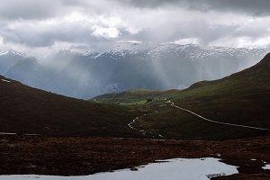 Rainy Weather on the Mountains